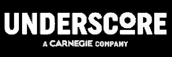 Underscore Logo, white