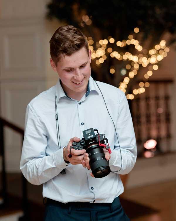 Jonas looking at camera