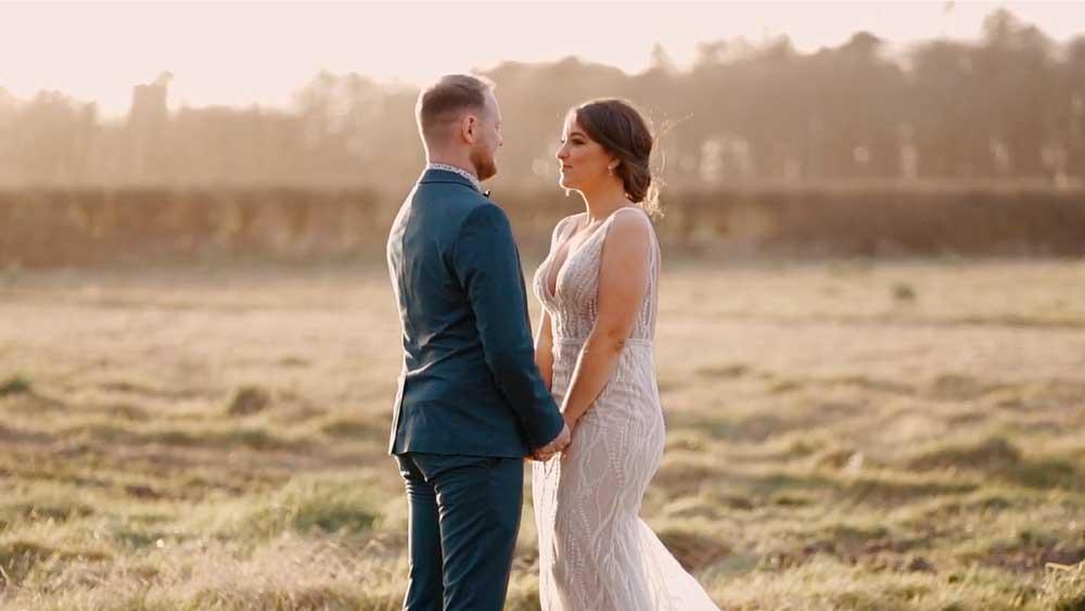 Jennifer and Shaun Wedding Photo