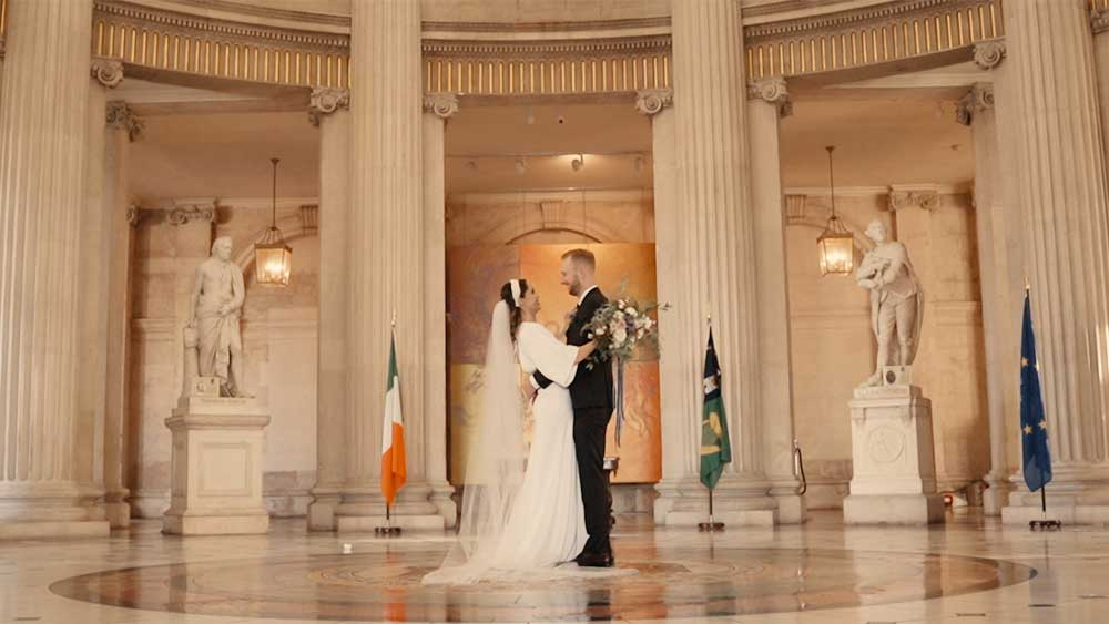 Gráinne and Sean Wedding Photo