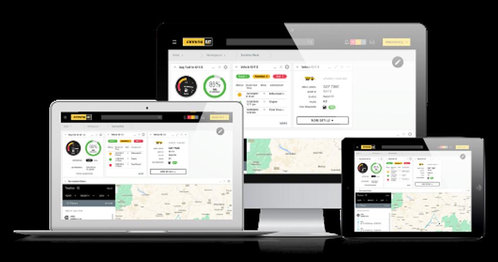 My.Finning Platform Screens