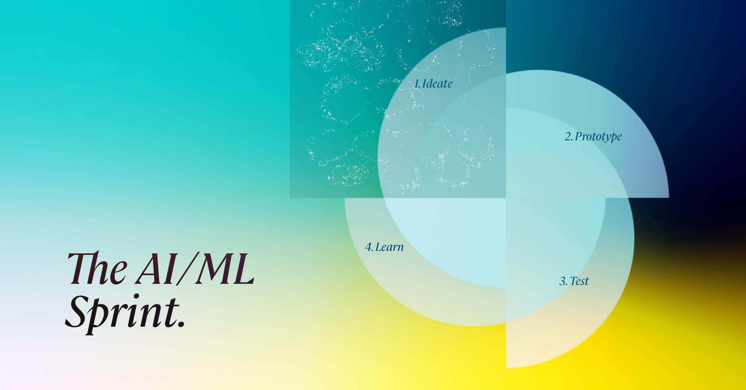 Illustration for AI-ML Sprint blog