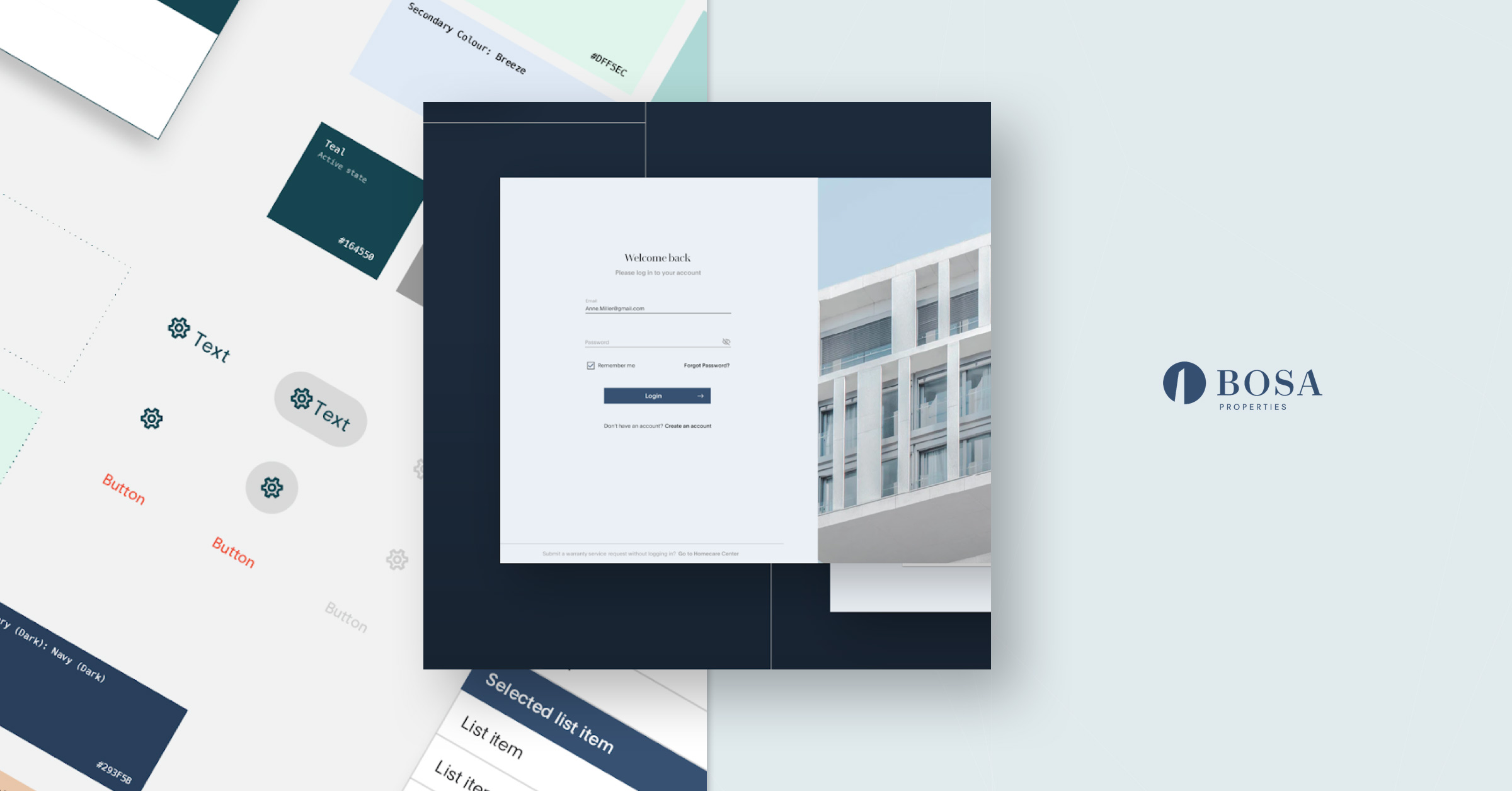 Creating a Customer Portal and Design System for Bosa Properties