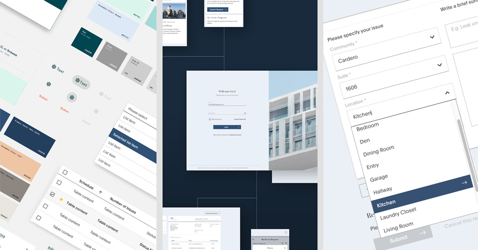 Snippets of a Design System. With a style guide, component library and well-documented systematic approaches, Design Systems are the essential building blocks that create the complex structures we recognize as user interfaces.