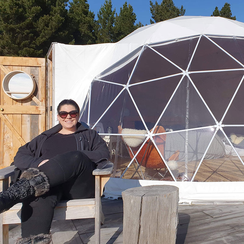 Glamping in New Zealand with Kate