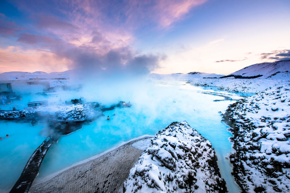 Iceland - Fire, Ice Caves  and Frozen Waterfalls