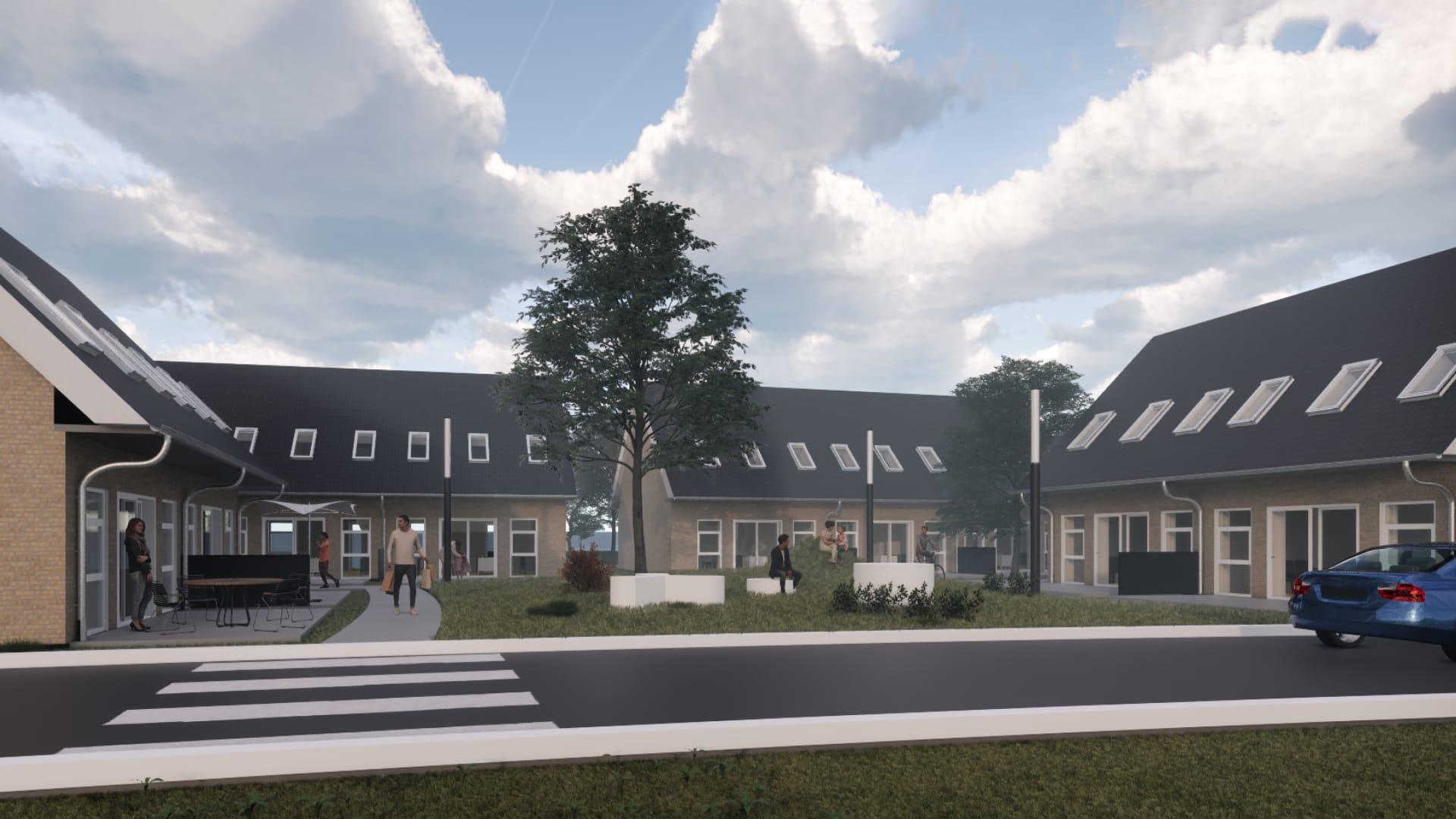 13 rækkehuse i Stjær ved Århus