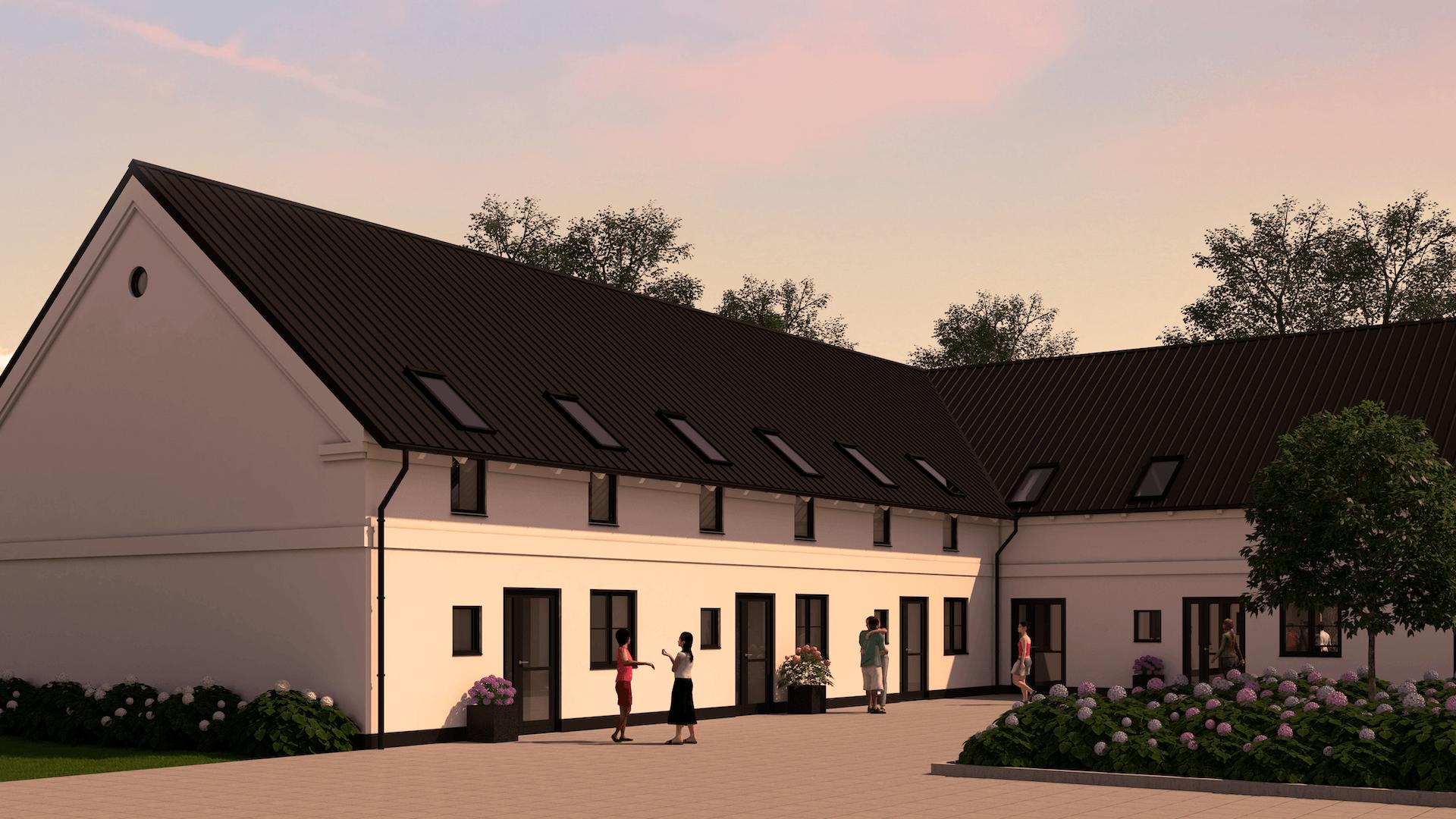 6 rækkehuse på Rustkammervej 1 i Sorø - Tranche 2