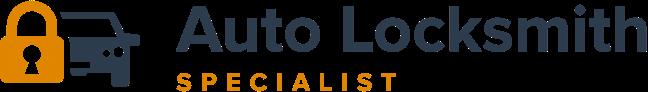 auto locksmith specialist colour logo
