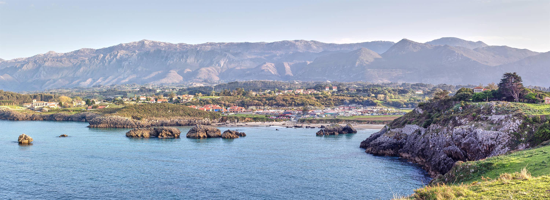 Playa de Borizo en Llanes, Asturias