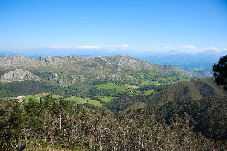 Vistas desde el Mirador del Fito, Caravia, Asturias