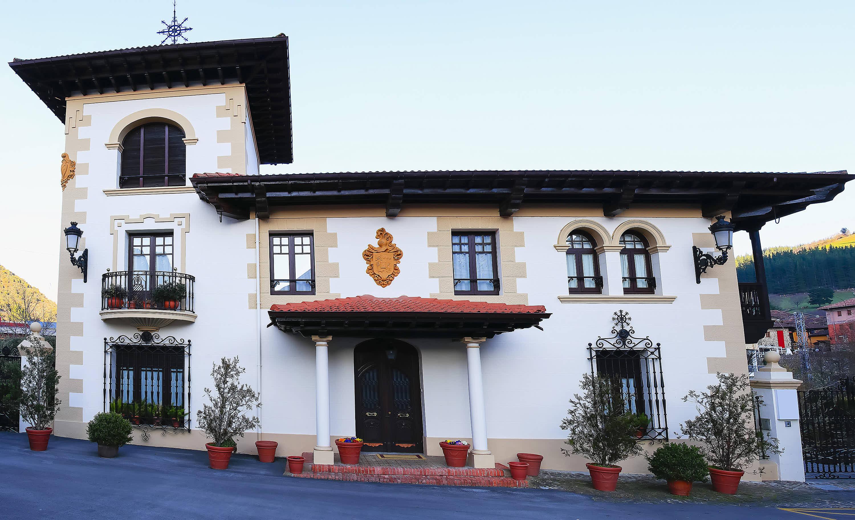 Palacete en la villa de Potes, en Cantabria