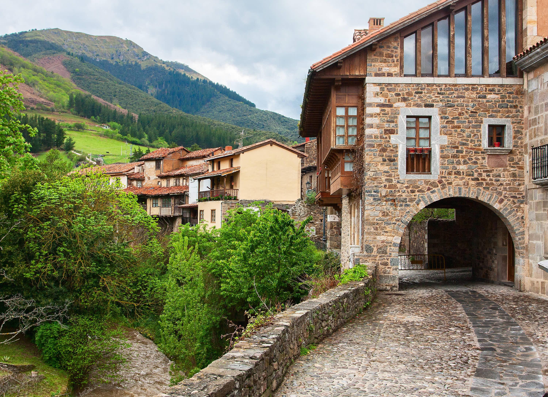 Villa de Potes, en Cantabria