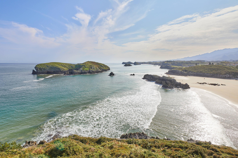 Costa de Celorio desde el Mirador de de Borizo, en Llanes, Asturias