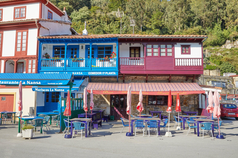 Restaurantes en la villa de Tazones, Villaviciosa, Asturias