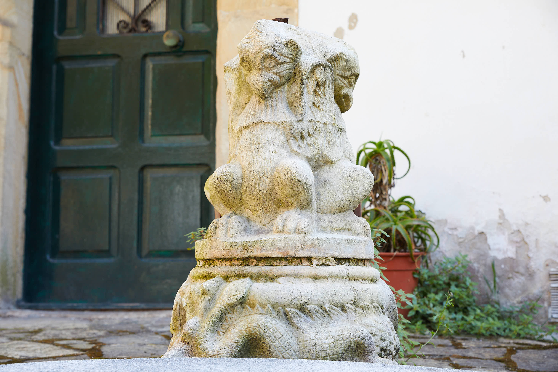 Estatua en Tazones, Villaviciosa, Asturias