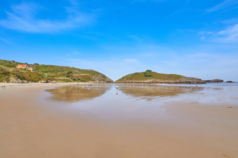 Marea baja en la Playa de Barro, Llanes, Asturias
