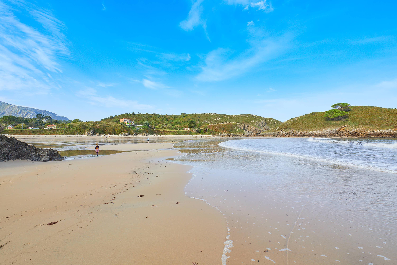 Playa de Barro desde la orilla, Llanes, Asturias