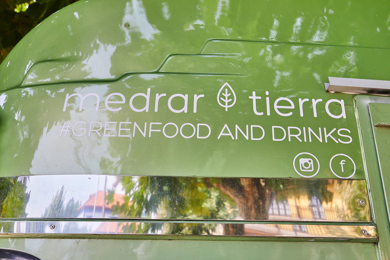 Detalle del food truck Medrar Tierra  en La Isla, Colunga, Asturias
