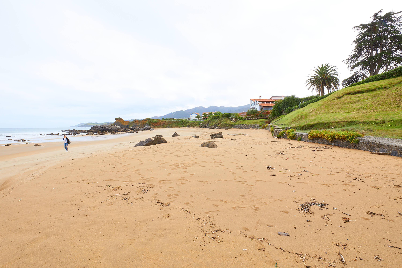 Profundidad de la Playa de El Barrigón, Colunga, Asturias