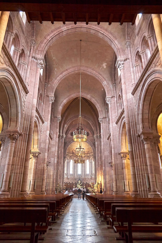 Interior de la Basilica de Covadonga, Cangas de Onís, Asturias