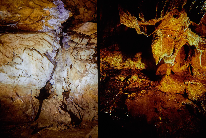 Galería de los antropomorfos de la Cueva de Tito Bustillo en Ribadesella, Asturias