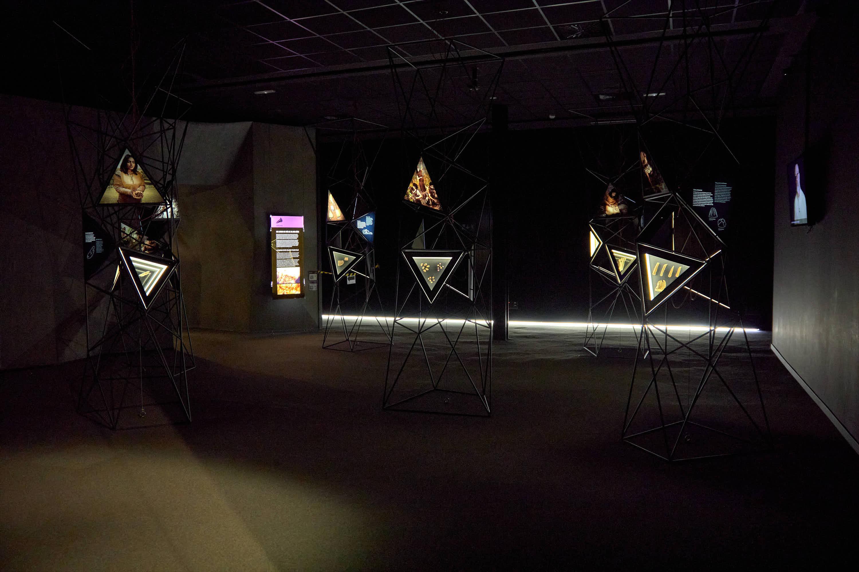 Sala tercera del Centro de Arte Rupestre Tito Bustillo en Ribadesella, Asturias