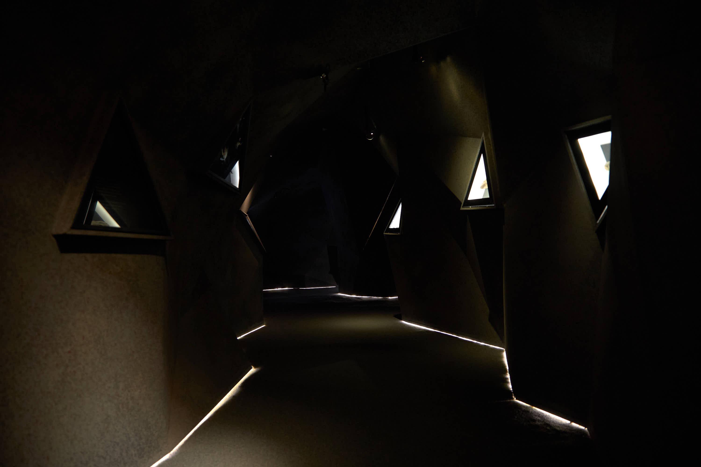 Sala cuarta del Centro de Arte Rupestre Tito Bustillo en Ribadesella, Asturias