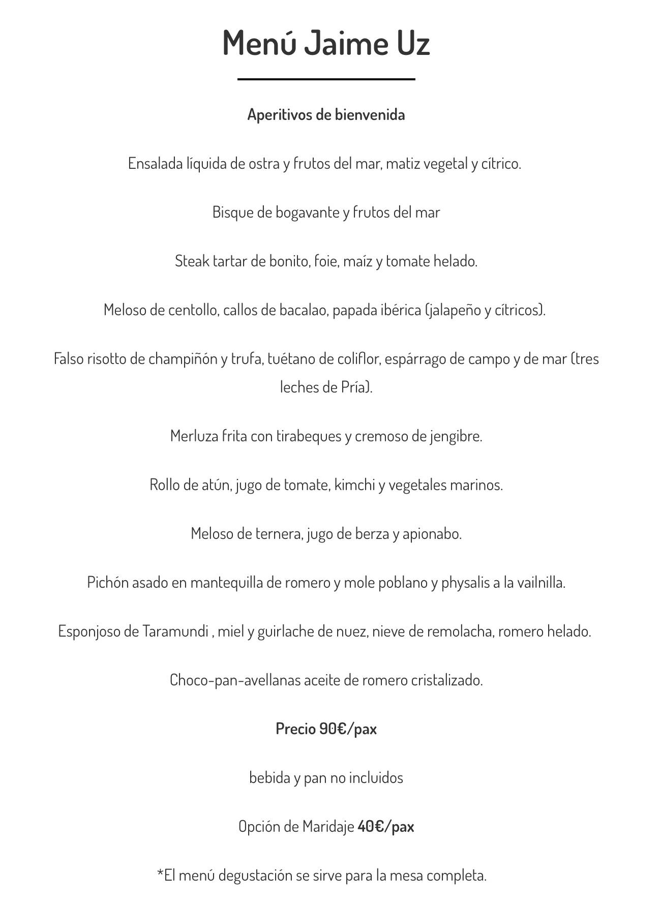 Menu-Jaime-Uz-restaurante-Arbidel-Ribadesella-Asturias-abril-2021
