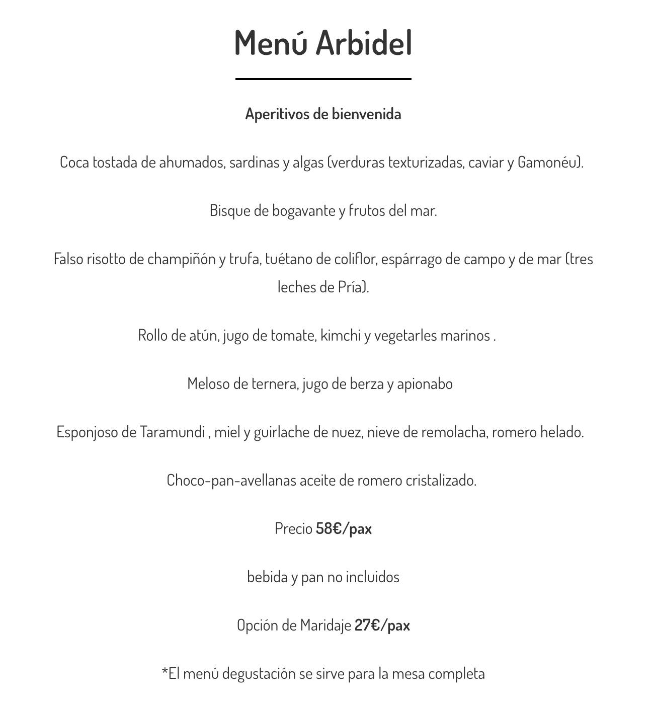 Menu-restaurante-Arbidel-Ribadesella-Asturias-abril-2021