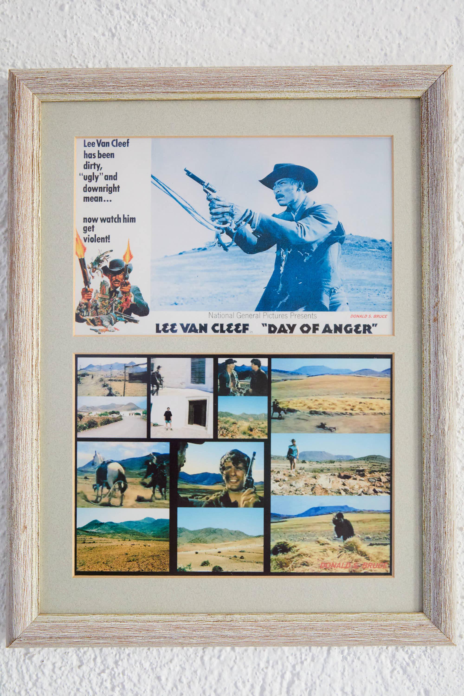 Fotogramas de la pelicula El Dia de la Ira rodada en el Hotel Cortijo El Sotillo en SanJose, Cabo de Gata, Nijar, Almeria, Andalucia
