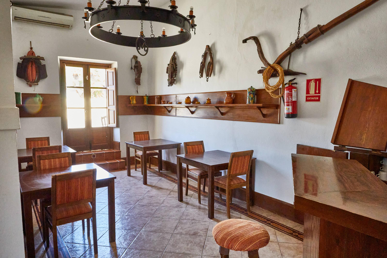 Bar del Hotel Cortijo El Sotillo en SanJose, Cabo de Gata, Nijar, Almeria, Andalucia