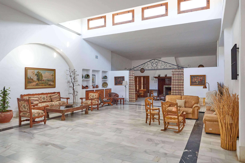Sala del Hotel Cortijo El Sotillo en SanJose, Cabo de Gata, Nijar, Almeria, Andalucia