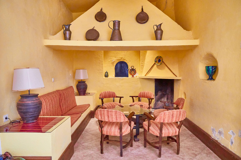 Antigua cocina en el Hotel Cortijo El Sotillo en SanJose, Cabo de Gata, Nijar, Almeria, Andalucia