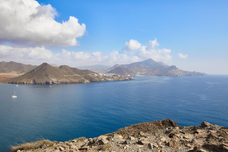 Panoramica de San Jose, Cabo de Gata, Nijar, Almeria, Andalucia