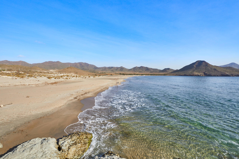Playa de Genoveses en San Jose, Cabo de Gata, Nijar, Almeria
