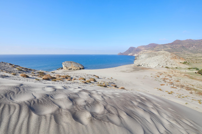Playa de Monsul, en San Jose, Cabo de Gata, Nijar, Almeria, Andalucia