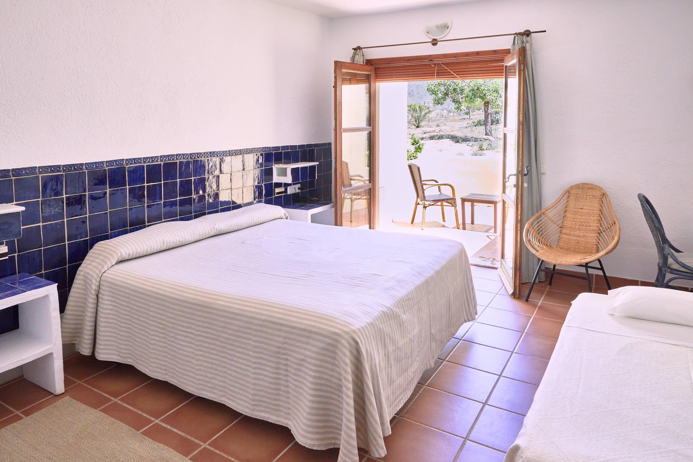 Habitación del Hotel Cortijo El Sotillo en SanJose, Cabo de Gata, Nijar, Almeria, Andalucia