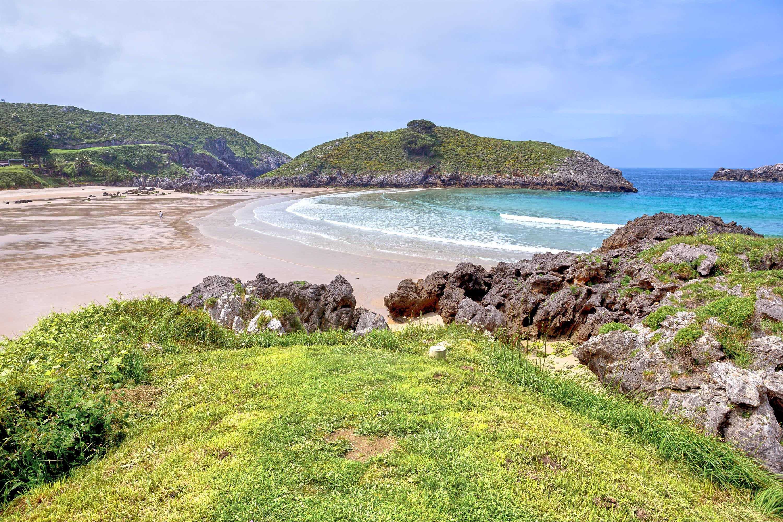 Playa de Barro en Llanes, Asturias