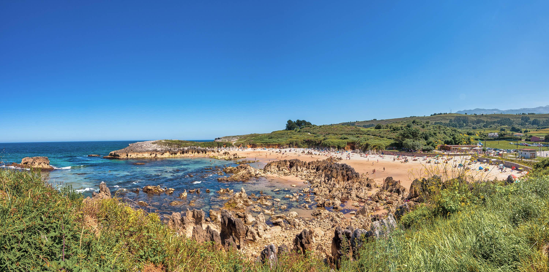 Playa de Toro en Llanes, Asturias