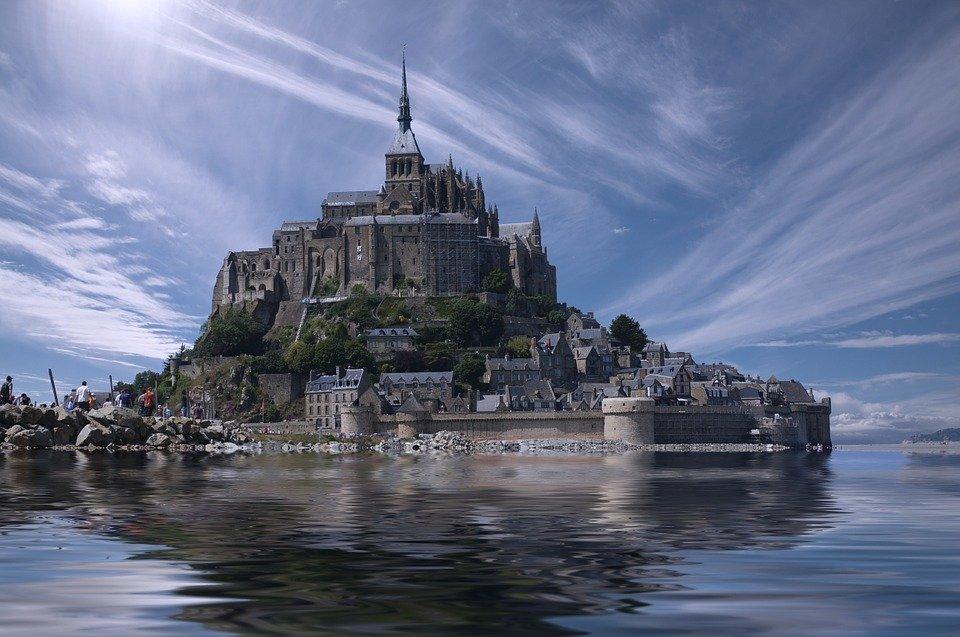 Mont Saint Michel, France, Normandie, Europe