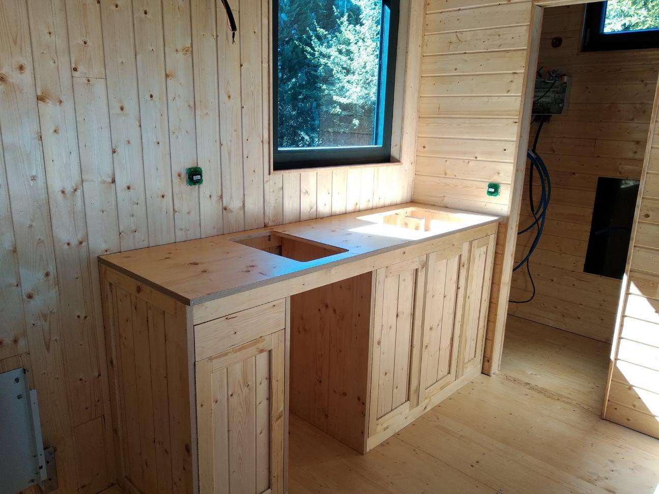 meuble cuisine tiny house