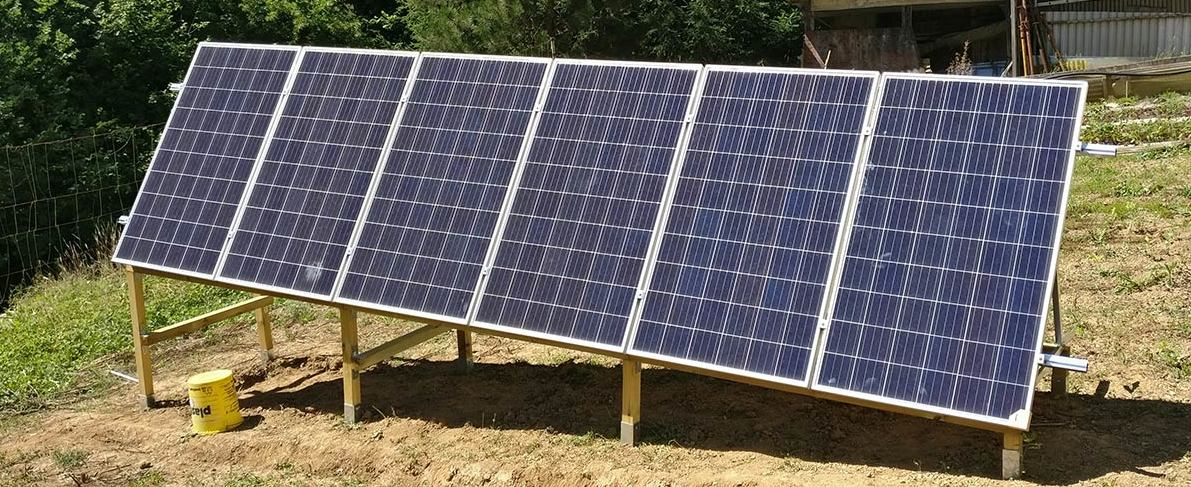 panneaux solaire tiny house
