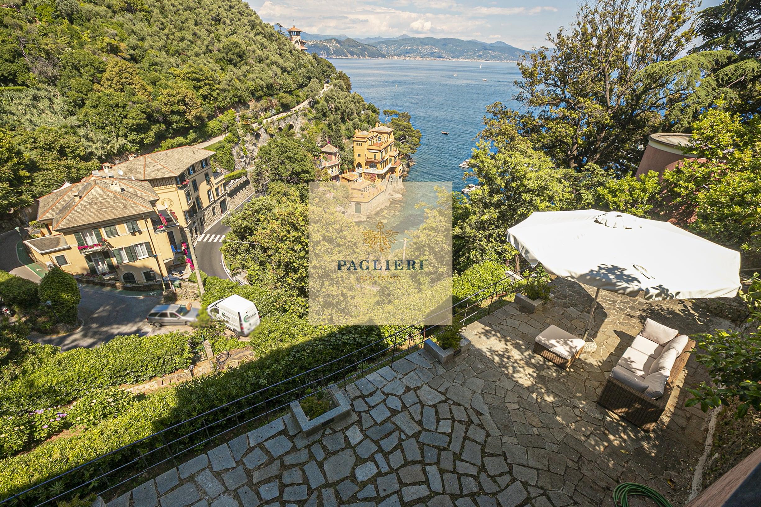 Appartamento in villa Portofino