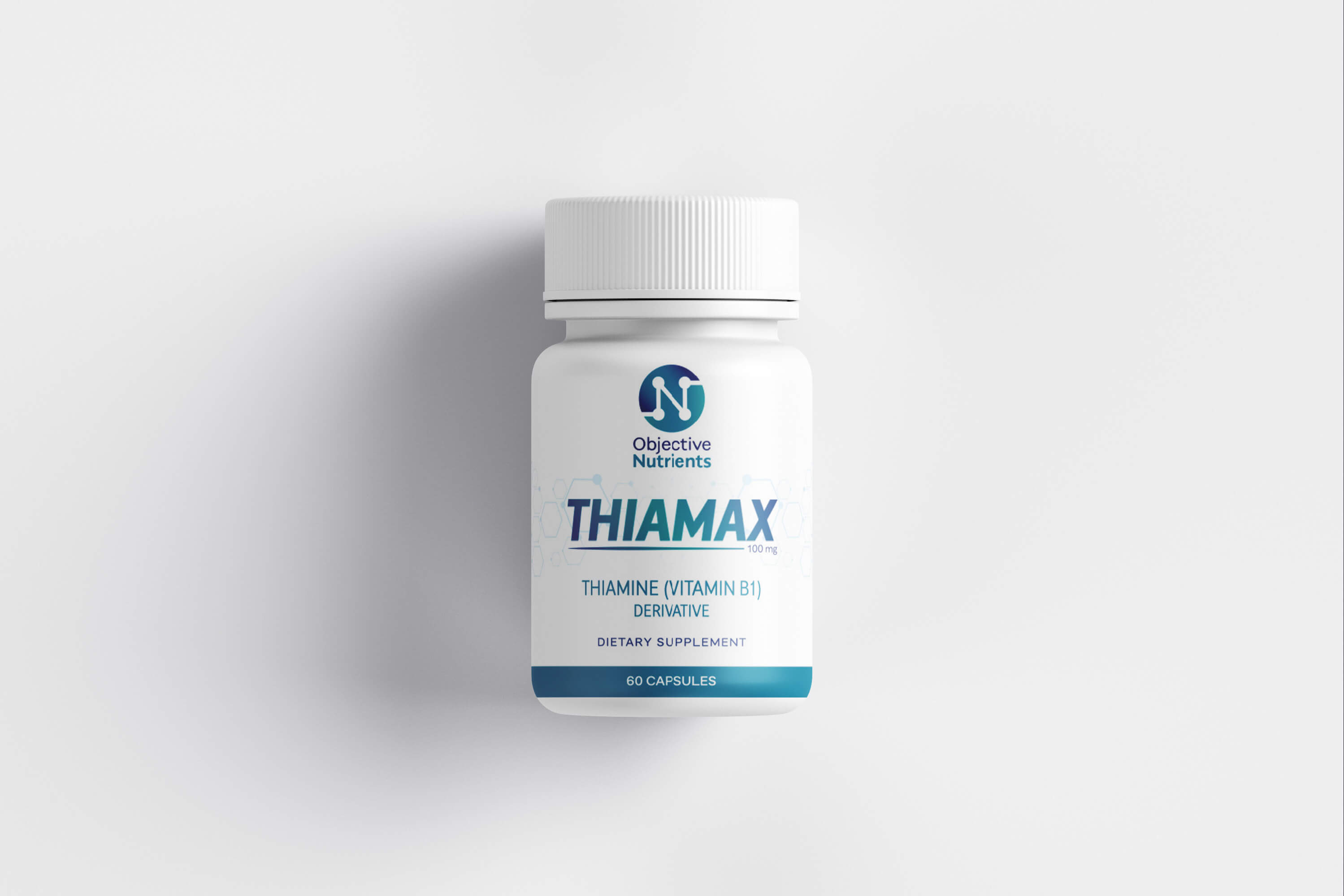Bottle of Thiamax front view