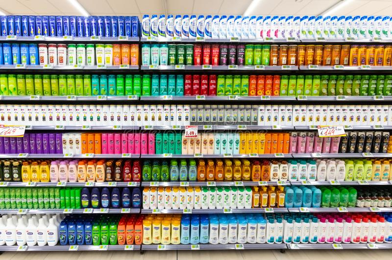 Endless choice of Shampoo and conditioners
