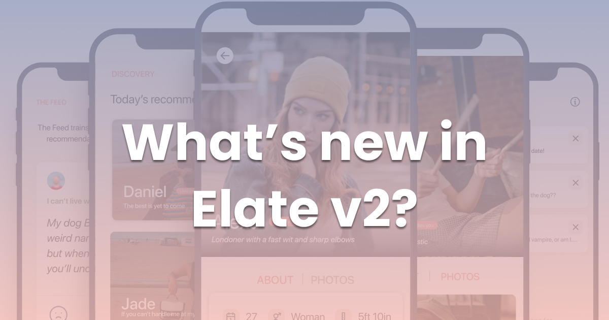 What's new in Elate v2