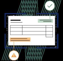 Depiction of Yokoys Supplier Invoice processing