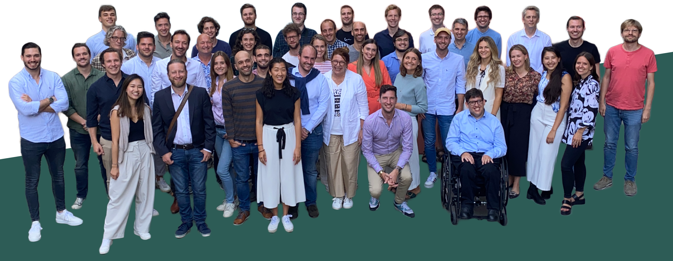 A group image of Yokoy team members