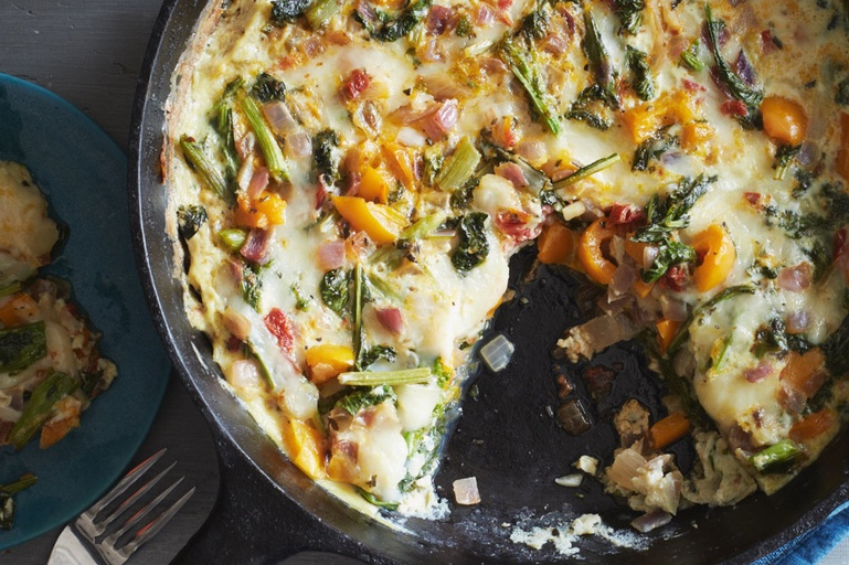 Strata and Frittata for Friday and the Weekend